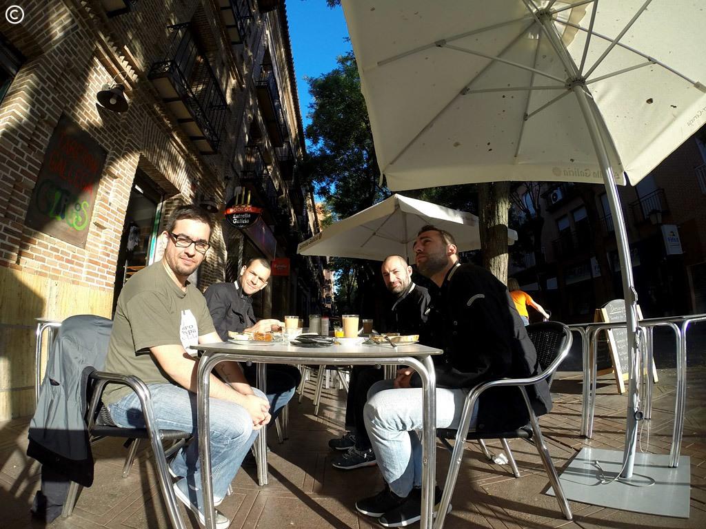 o pequeno-almoço em Guadalajara