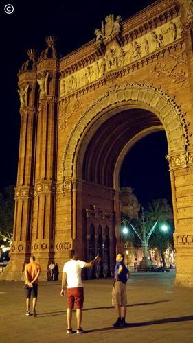 Barcelona, arco do triunfo