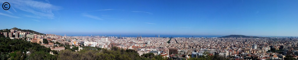 From Lisbon to Croatia - dia 3 - Barcelona - panorâmica