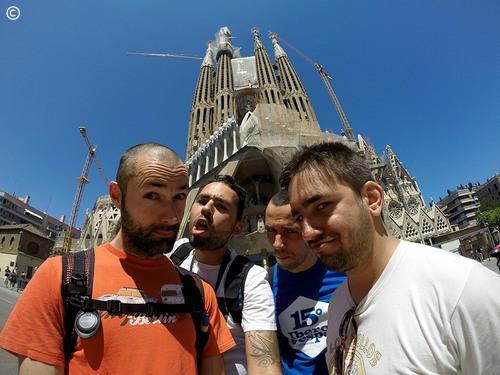 From Lisbon to Croatia - dia 3 - Barcelona - a Sagrada Família (de Gaudí)