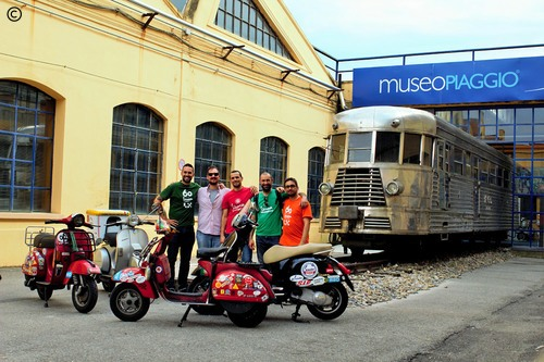 From Lisbon to Croatia - dia 6 - Museo Piaggio
